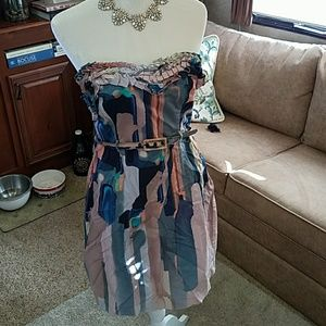 Catherine Malandrino Watercolor Dress 10